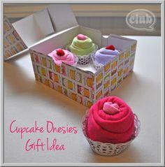 Romper cupcake