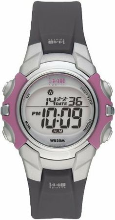 Timex Women's T5J151 1440 Sports Digital Black Resin Strap Watch Timex. $14.88. Daily alarm. 2 time zone settings for travel. 24-hour chronograph. Easy to use 24 hour countdown. Full size watch