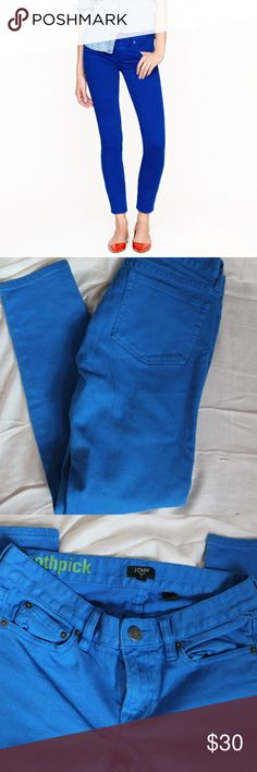J Crew Toothpick Great condition J-Crew Toothpick Skinny Pants. J. Crew Pants Ankle & Cropped