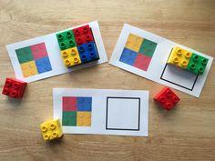 ¡Este juego de patrones con ladrillos LEGO DUPLO es súper divertido! Esta semana le preparé a mis niños este juego de patrones y les gustó muchísimo. La actividad fue bien sencilla de hacer. En la computadora diseñéestas hojas con unos …