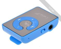 Mini Clip Metal Mirror USB MP3 Music Media Player Support 8GB Micro SD/TF card #UnbrandedGeneric