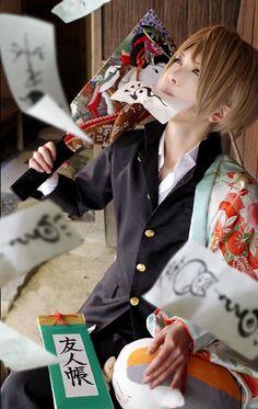 Natsume Yuujinchou cosplay omygosh I'm dying.