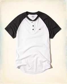 4dd684f7d004cc Hollister guys t-shirts and Henley shirts come in short and long sleeves