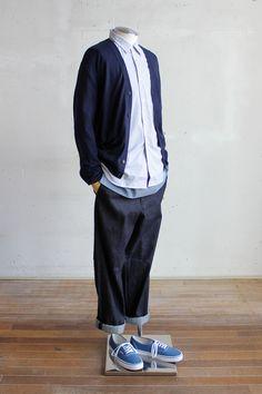 Suggestion of The Mens Pre Spring Style Big Men Fashion, Japan Fashion, European Fashion, Normcore Fashion, Streetwear Fashion, Fashion Outfits, Stylish Men, Men Casual, Spring Style