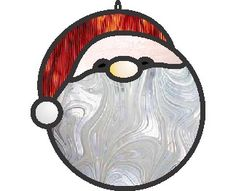 This is a super simple christmas tree stained glass and window cling ornament...6 pieces