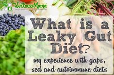 A leaky gut diet helps with food allergies, behavior problems, autoimmune conditions and more. We used a mixture of GAPS, SCD and autoimmune diets. Health Diet, Health And Nutrition, Health And Wellness, Intestino Permeable, Leaky Gut Diet, Leaky Gut Heal, Leaky Gut Syndrome, Wellness Mama, Autoimmune Diet