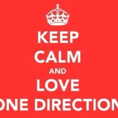 This is me. Wait, Im not calm he. I think about One Direction.