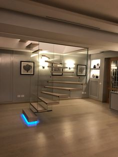 Smart solutions to create the impression of floating stairs come from Siller Stairs - the Italien staircase designer Glass Stairs, Floating Stairs, Cantilever Stairs, Modern Architecture, Create, Wood, Design, Woodwind Instrument, Timber Wood