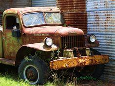 1950's Dodge power wagon