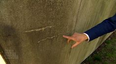 Bioconcrete ; bacteria that is added to concrete, and can wait dormant for years before being activated by water. When activated, it builds limestone in the cracks.