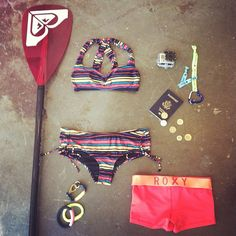 Get the how-to on how to pack light & get the most our of your next #ROXYOutdoorFitness #SUP adventure