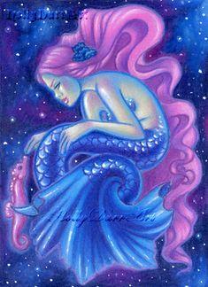 Angel Prints Mermaid Paintings Fairy Art Jewelry Boxes Paintings on Wood Fairy Paintings, Painted Jewelry Boxes, Art Drawings, Drawing Art, Color Pencil Art, Merfolk, Angel Art, Fairy Art, Painting On Wood