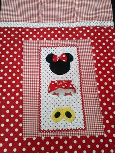 Minnie Mouse Baby Crib/Toddler Bedding by BetsysBabyBoutique19, $100.00
