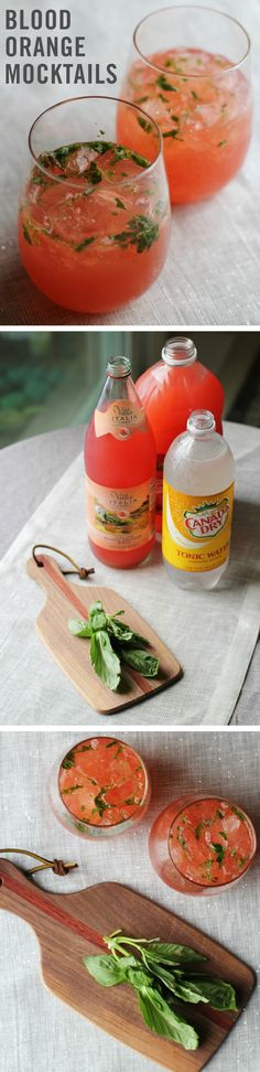 It's time for a cocktail party the whole family can enjoy, and the Blood Orange Basil Mocktail is safe for pregnant mamas and toddlers alike. (And for those who have no need for sobriety, there's a gin and tonic version too!)