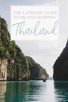 The Ultimate Guide to Island Hopping in Thailand • The Blonde Abroad Chief Seattle, Thailand Travel Tips, Koh Samui, Koh Tao, Chiang Mai, Phuket, Singapore, Travel Inspiration, Travel Destinations