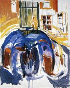 Self-Portrait During Eye Disease II. - Edvard Munch