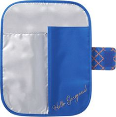 ULTA Heat Resistant Travel Pouch/Mat Snorkel Blue/Peach