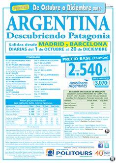 ARGENTINA-Descubriendo Patagonia-sal. del 3/11 al 20/12 dsd Mad y Bcn (15d/12n) p. final dsd 3.070€ ultimo minuto - http://zocotours.com/argentina-descubriendo-patagonia-sal-del-311-al-2012-dsd-mad-y-bcn-15d12n-p-final-dsd-3-070e-ultimo-minuto/