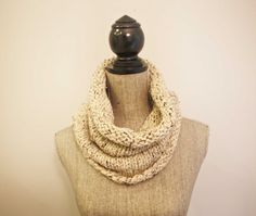 the Freedom cowl / oatmeal by freedom knits to support the work of @IJM HQ