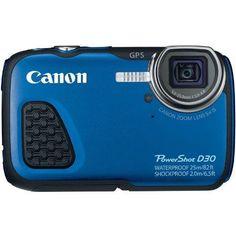 Canon Usa Powershot D30 Kit (blue)