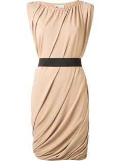 Shop Lanvin draped dress in Vitkac from the world's best independent boutiques at farfetch.com. Over 1500 brands from 300 boutiques in one website.