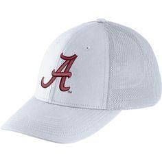 best cheap 372c0 86583 Nike Men s Alabama Crimson Tide Legacy91 White Flex Mesh Back Hat, Team  Alabama Crimson Tide