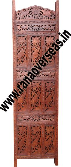 Wooden Partition Screen .Deciding on the right wood folding screen is simply a matter of personal taste. For those that appreciate unique style folding screens,our hand carving abstract dividers may be a consideration. Developed from high quality sheesham wood and these partitions stand only in zig zag position.Wooden Partition Screen, Room dividers are often used in commercial offices or homes to seperate rooms or to block light. Wooden room divider screens are very popular.