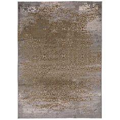 Alazan Design Gold Rug World Menagerie Rug Size: Rectangle 60 x Grey And White Rug, Dark Grey Rug, Brown Rug, Grey And Gold, Rug World, Gold Rug, Red Rugs, Pink Rug, Rug Size