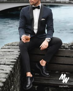 """16.6k Likes, 80 Comments - @menwithclass on Instagram: """"Fantastic New Years Eve outfit inspiration from our dear friend @malikarakurt Happy New Year!…"""""""