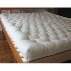 Wool Matress by Shepherd's Dream. Made from 100% natural materials! I have this and absolutely LOVE it!