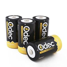 [Amazon Canada | Lightning Deals]Odec D Rechargeable Batteries 4 Pack Ni-MH 10000mAh D Size D Cell Battery Pack... http://www.lavahotdeals.com/ca/cheap/amazon-canada-lightning-dealsodec-rechargeable-batteries-4-pack/119864