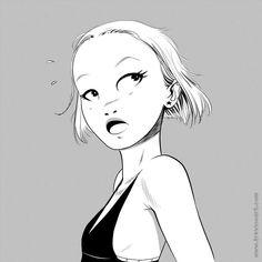 Trevino Art, Bd Comics, Character Design Inspiration, Simple Art, Life Drawing, Webtoon, Cartoon Characters, Comic Art, Concept Art