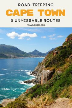 Five of the best road trip routes near Cape Town. This bucket list guide includes five beautiful drives located just outside Cape Town, South Africa. The Cederberg Mountains are awaiting an adventure ranging from rock climbing to hiking. Hermanus serves as one of best places to watch the annual migration of the Southern right whale. Map out the perfect route to take on your trip with this guide. Travel in South Africa. | Travel Dudes Travel Community #Travel #SouthAfrica #CapeTown #RoadTrip