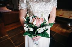 Pink & white bridal bouquet | Photography by http://eclection-photography.com/