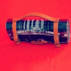 New LovelyHandMade Barrel Clutch...