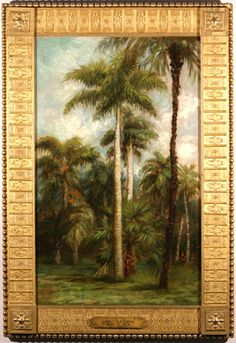 John La Farge, 1835-1910, palm trees