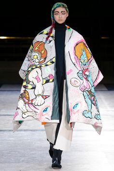 Yohji Yamamoto Fall 2014 Ready-to-Wear - Collection - Gallery - Style.com