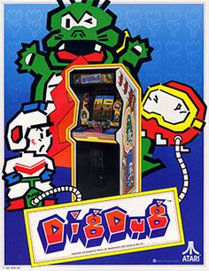 Dig Dug I loved this game, when I seen it on a Plug & Play system I bought it just to play this game.