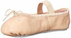 Toddler Size 10 Rose Pink Full Sole Ballet Slippers NIB !