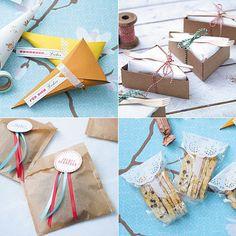Geschenkverpackungen selber basteln - geschenkverpackungen-selber-basteln  Rezept