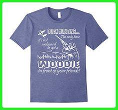 Mens Duck Hunting T Shirt, Woodie T Shirt 3XL Heather Blue - Animal shirts (*Amazon Partner-Link)