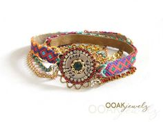 SS2013 Friendship bracelet wrap collection - OOAKjewelz original design - Ibiza hippie jewelry - statement jewelry - boho chic bohemian