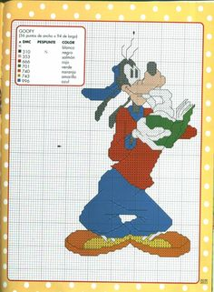 Gallery.ru / Фото #20 - punto de cruz Disney 11 - anfisa1