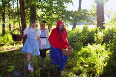 Harris Sisters GirlTalk: Group Costume Idea - Into the Woods - Storybook Characters - Wizard of Oz - Alice in Wonderland - Red Riding Hood - Fairy Tale