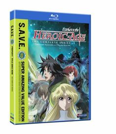Heroic Age: The Complete Series (Blu-ray/ Super Amazing Value Edition) Sci Fi Anime, Anime Dvd, Manga Anime, Black Friday Toy Deals, Heroic Age, Anime Episodes, I Movie, Cool Things To Buy, Animation