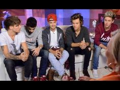 One Direction Nightline Interview - I REALLY REALLY like this interview- it explains a lot about the movie, the boys, the interviewer is very nice and genuine.