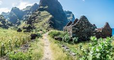 Amazing mountains of Santo Antao, Cape Verde #Kaapverdie #CaboVerde