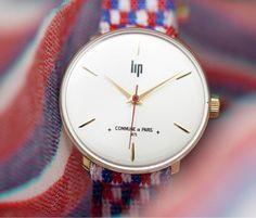 Commune de Paris 1871 x LIP s'associent pour proposer une mini collection de montres en édition limitée.