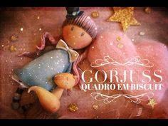 Vamos fazer um lindo quadro infantil com essa boneca super fofa inspirada nas Gorjuss? Vem comigo!!! Para mais videos como esse, por favor se inscreva e comp...
