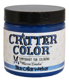 Love this Blue Critter Color Temporary Fur Dye by Warren London on #zulily! #zulilyfinds